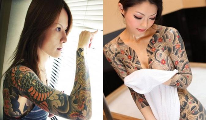 Wanita Yakuza Jepang